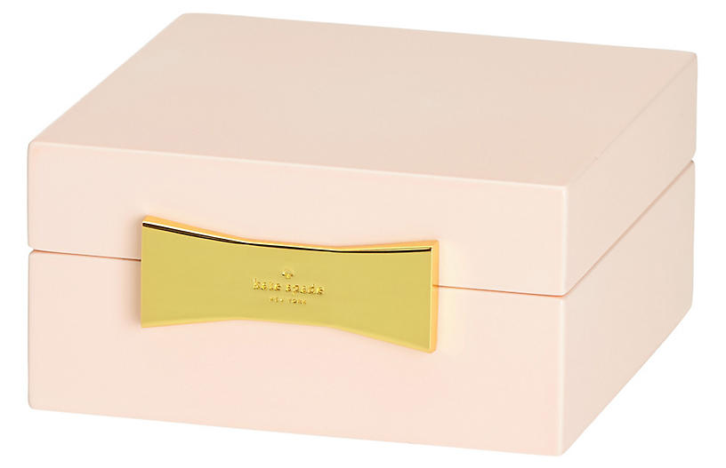 Garden Drive Square Jewelry Box - Pink - kate spade new york