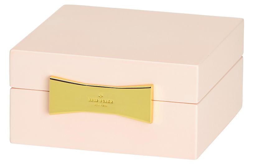 Garden Drive Square Jewelry Box - Pink - kate spade new york