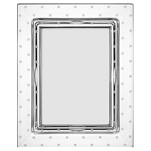 5x7 Larabee Dot Frame, Clear