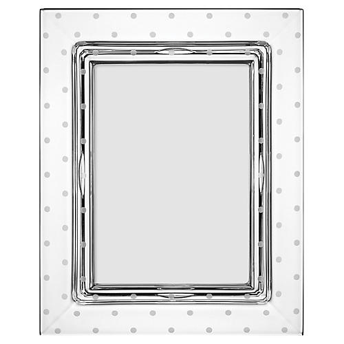 5x7 Larabee Dot Frame, Clear