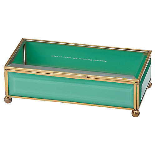Out of the Box Jewelry Box, Turquoise