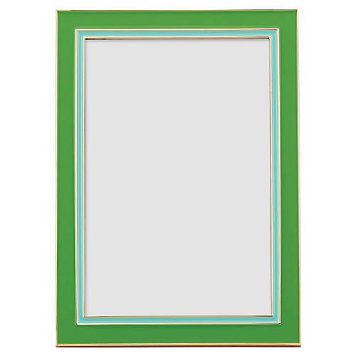 Portland Place Picture Frame, Green/Turquoise