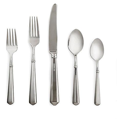 5-Pc Todd Hill Place Setting, Silver