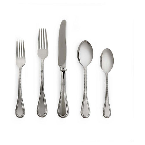 5-Pc Union Street Place Setting, Silver