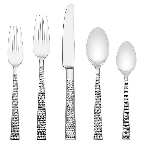 5-Pc Wickford Place Setting, Silver