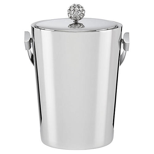 Two-of-a-Kind Ice Bucket, Silver