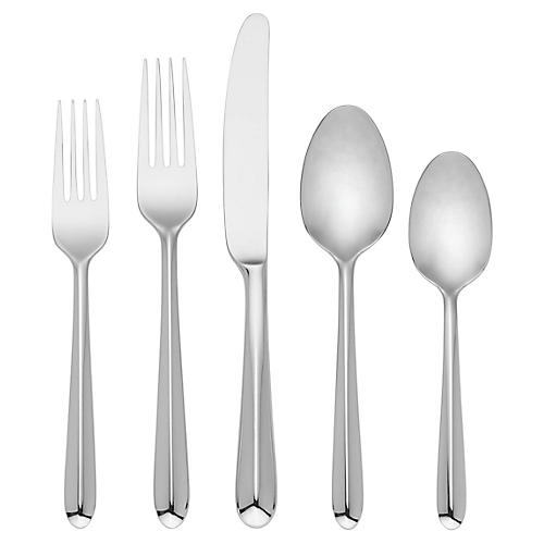 5-Pc Paldale Street Place Setting, Silver