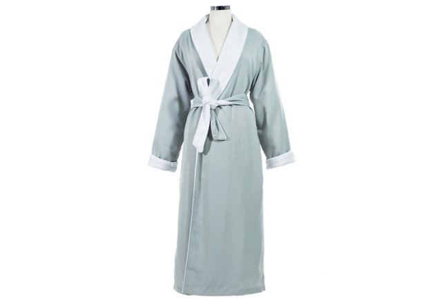 Spa Robe Large/Extra Large, Silver Sage