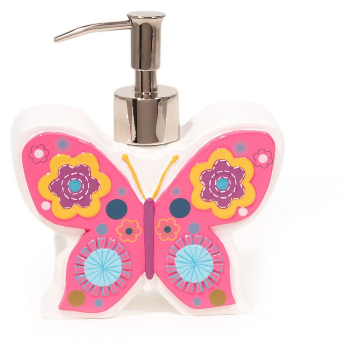 Butterflies Lotion Dispenser