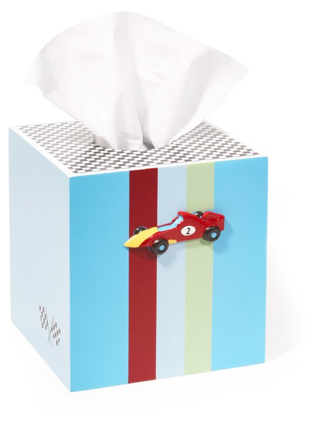 Racetrack Tissue Holder