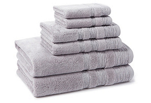 6-Pc St Germaine Towel Set, Orchid