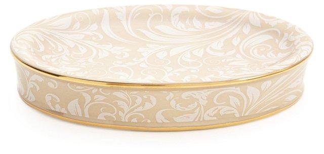 Bedminster Soap Dish, Crème