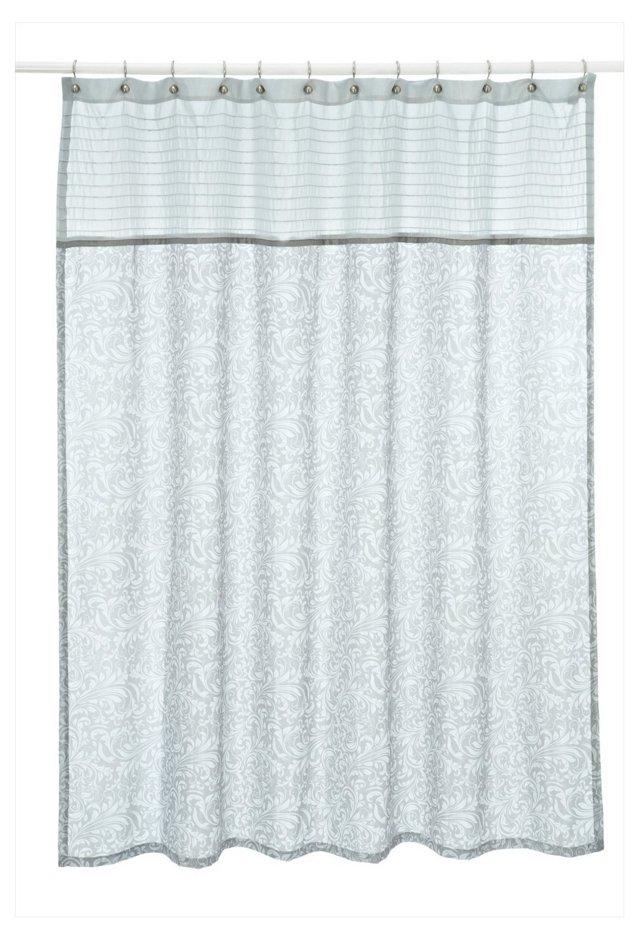 Bedminster Shower Curtain, Flint