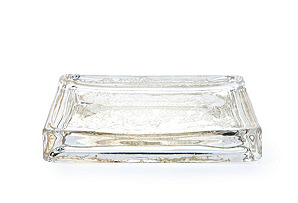 Viscaya Collection Soap Dish, Glass