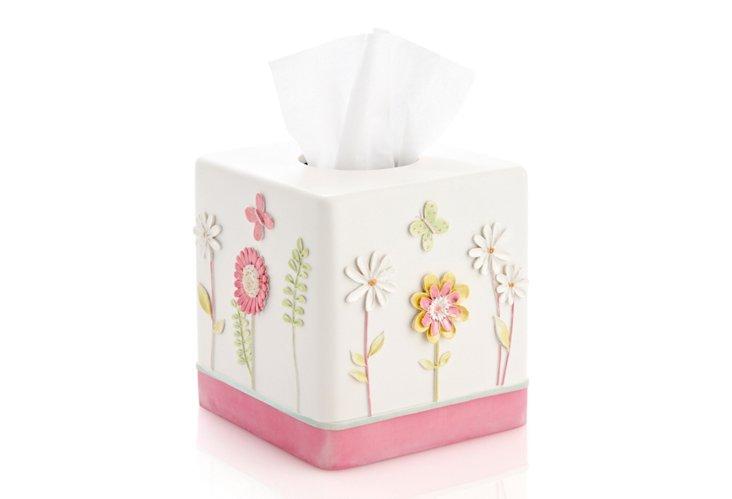 Garden Party Tissue Holder