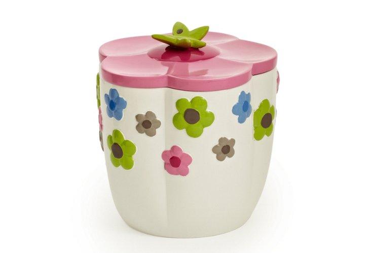Merry Meadow Cotton Jar