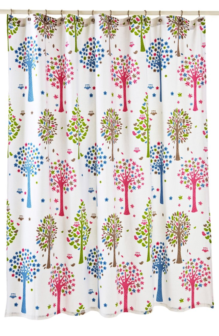 Merry Meadow  Shower Curtain
