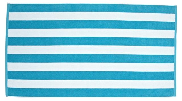 Cabana Beach Towel, Turquoise