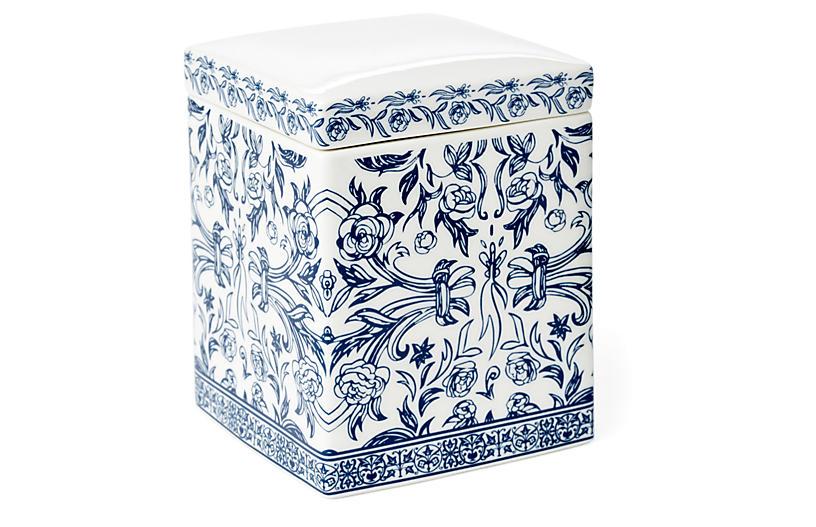Orsay Cotton Jar, Blue