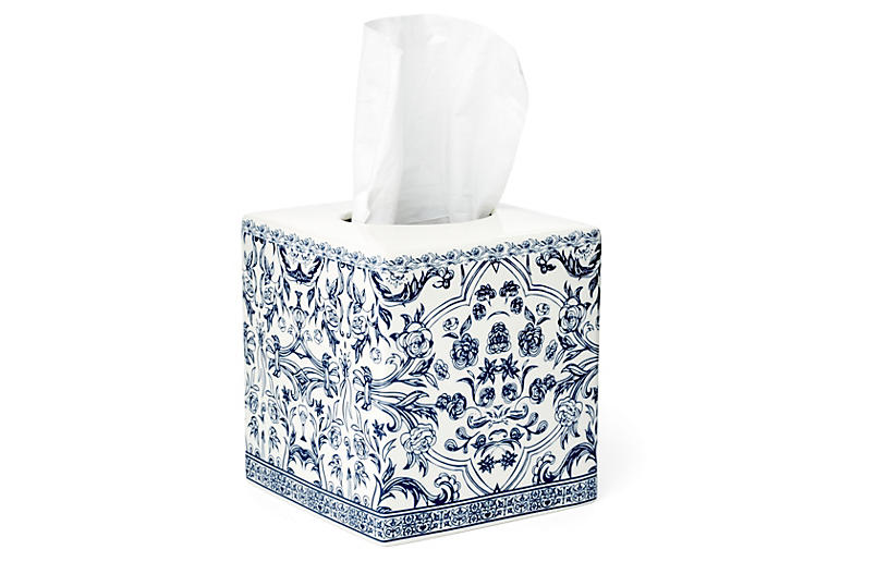 Orsay Tissue Holder, Blue
