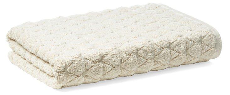 Bristol Bath Towel, Cream