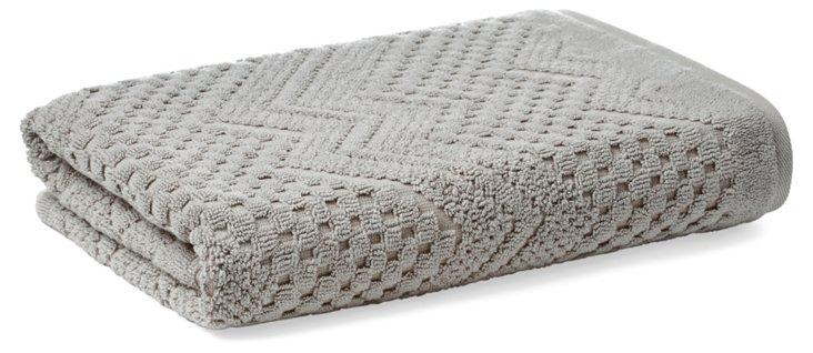 Chateau Bath Towel, Sterling Gray