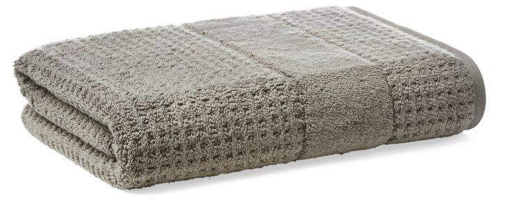 Hammam Bath Towel, Charcoal