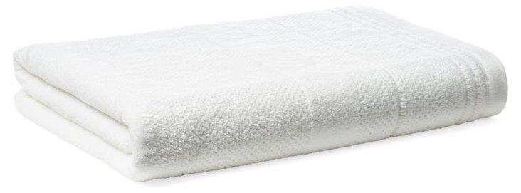 Textures Bath Towel, White