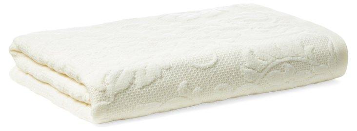 Parisian Bath Towel, Pearl