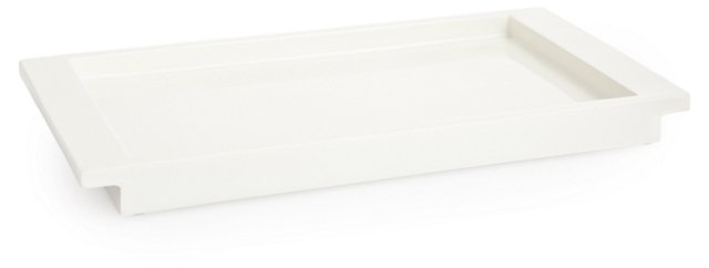 Lacca Tray, White