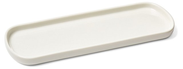 Parisian Vanity Tray, White