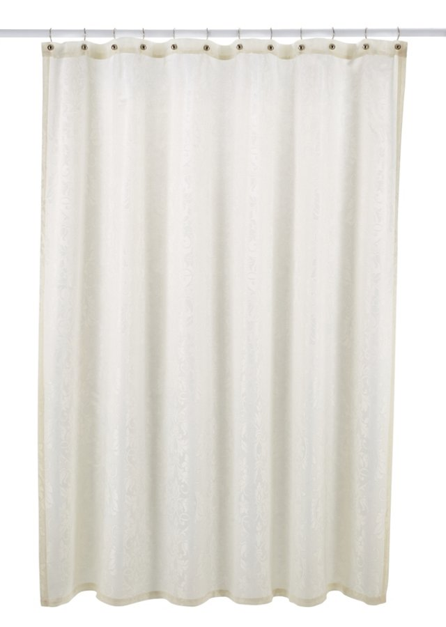 Parisian Shower Curtain, Pearl