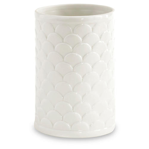 Scala Porcelain Tumbler, White