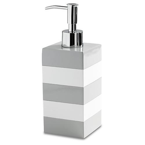 Cabana Lotion Dispenser, Gray
