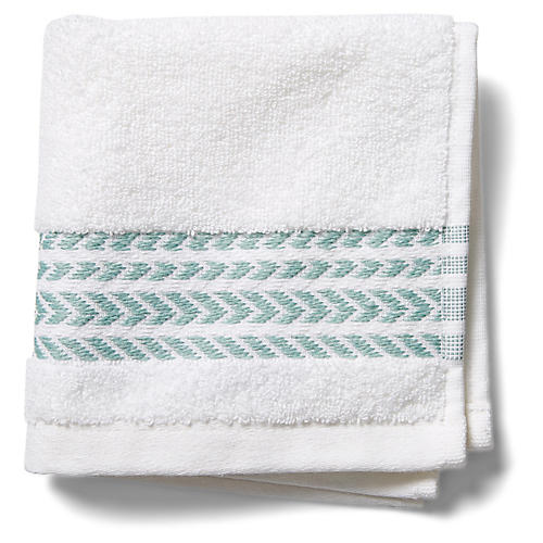 Baja Washcloth, Green
