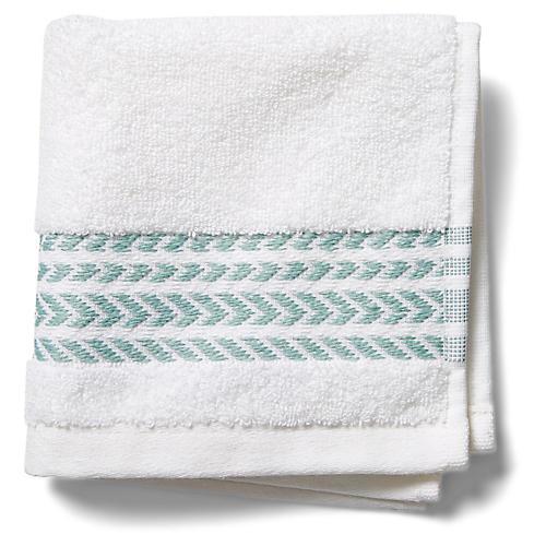 Baja Washcloth, Green