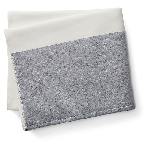 Greenwich Bath Towel, Indigo