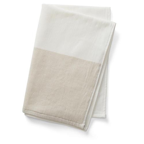 Greenwich Hand Towel, Beige