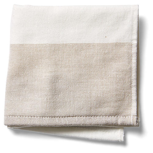 Greenwich Washcloth, Beige