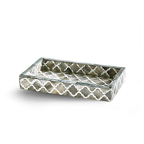 Marrakesh Tray, Gray