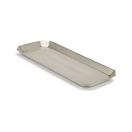 Nomad Tray, Antiqued Silver