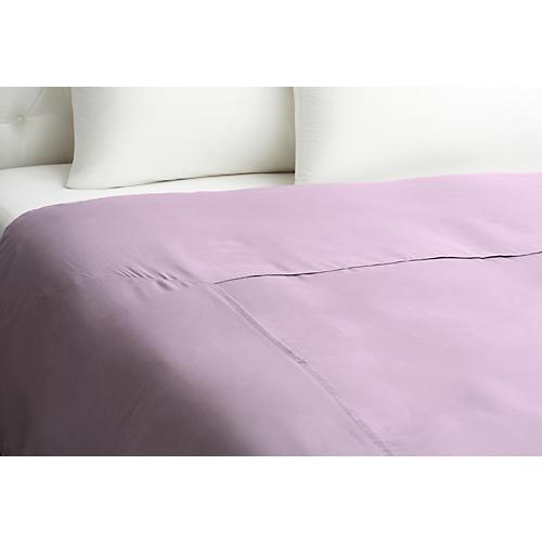 Kumi Basic Duvet Cover, Misty Lilac