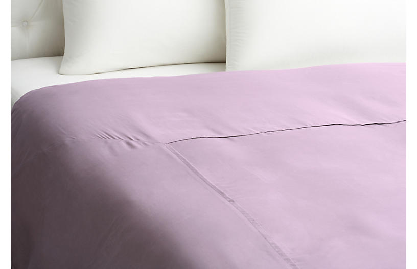 Kumi Basic Duvet Cover, Misty Lilac