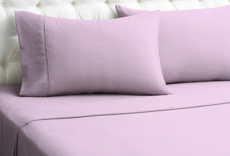 Kumi Basics Sheet Set, Lilac