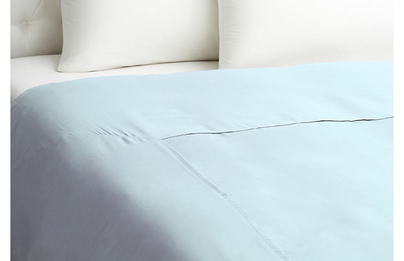 Kumi Basic Duvet Cover, Blue