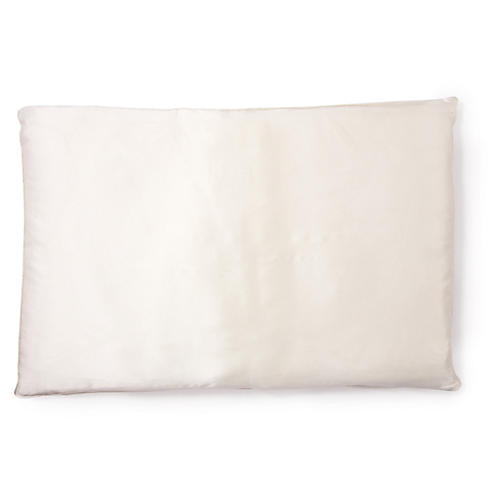 Basics Single-Fill Pillow, White