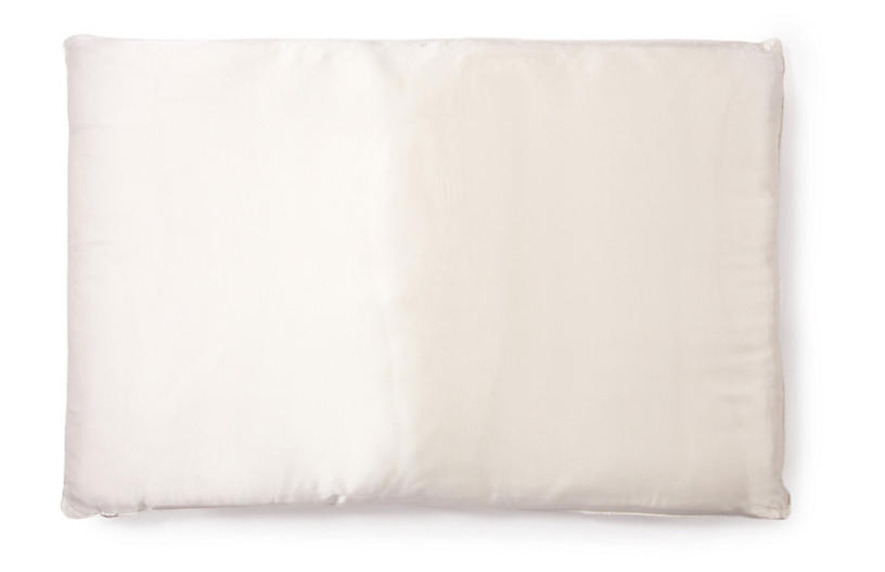 Basics Double-Fill Pillow, White