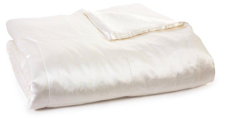 King Kumi Basics Comforter, White