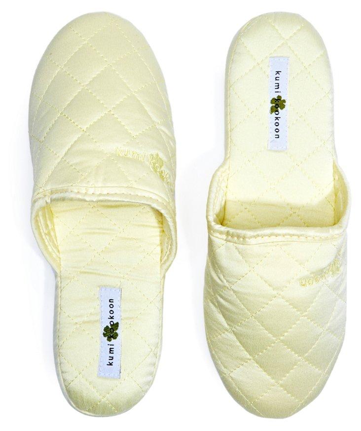 Silk Slippers, Lemon Meringue