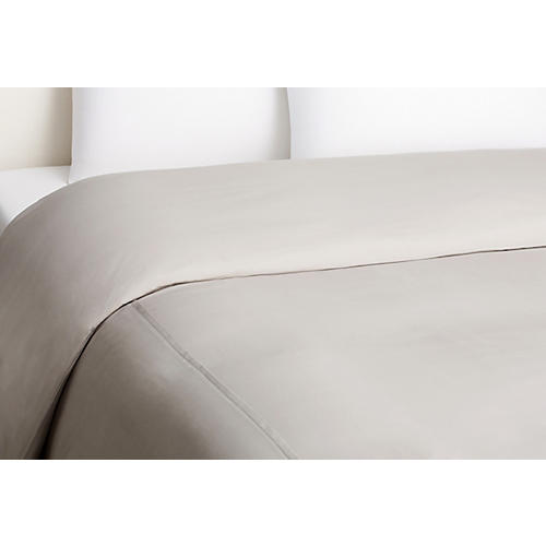 Basic Duvet Cover, Gray